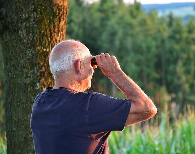 senior turista