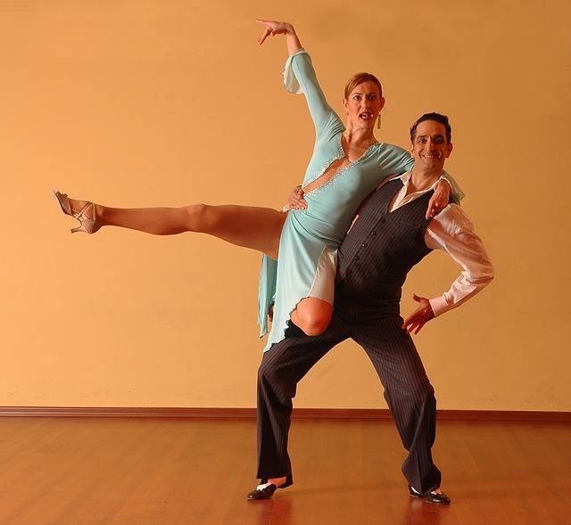 taneční póza