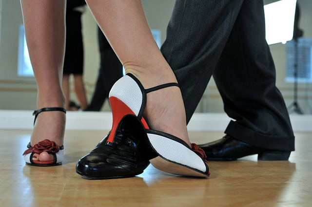 boty tanečnice