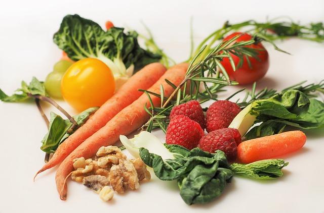 oříšky se zeleninou